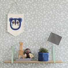 Mountain Tops Wallpaper for kids room