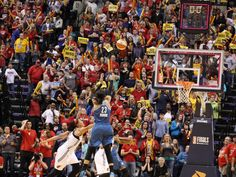 Lynx forward Maya Moore (23) sinks the game-winning shot at the buzzer against the Fever in Game 3 of the WNBA Finals in Indianapolis. Moore's bucket gave Minnesota an 80-77 win and 2-1 series lead.  Brian Spurlock, USA TODAY Sports