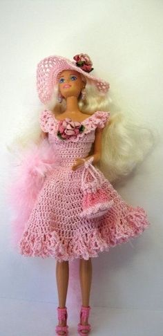 BArbie in Crochet Dress