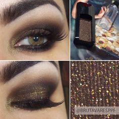 .@Bruna Tavares | Tem post novo no blog com aquela sombra marrom com brilho bafo que postei ont...