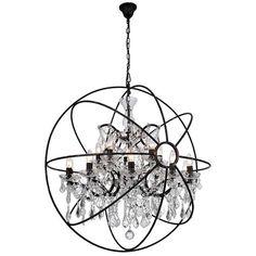 New Belden 15 - Light Candle Style Globe Chandelier by Gracie Oaks Lighting Home Decor Furniture. Fashion is a popular style Buy Chandelier, Wheel Chandelier, Rectangle Chandelier, Large Chandeliers, Chandelier Lighting, Chandeliers Online, Orb Pendant Light, Lantern Pendant, Globe Lights