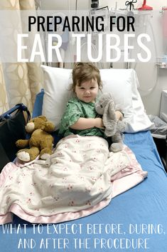 What To Expect Before During And After Ear Tubes Procedure Our Toddler Had