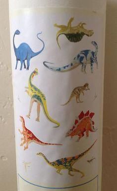 Pottery Barn Kids Aaron Dinosaur Wall Decals New Dino Art Bedding Decor Boy Room | eBay