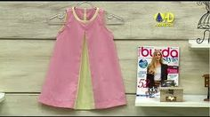 Modelagem vestido de bebê | Cantinho do Video Costura em Roupas