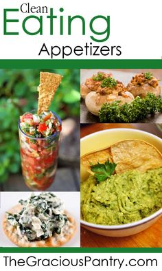 Clean Eating Appetizers.  #cleaneating #eatclean #cleaneatingrecipes #cleaneatingappetizers #appetizers #appetizerrecipes