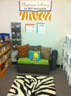 Polka Dot Teacher: It's a Jungle in Here!  She has super cute ideas that I definitely need to steal!!!