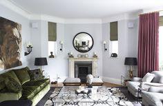 Discreet Kensington Multi-Room AV solution for Interior Designer Mark Smith of Smith Creative - featured in House and Garden Magazine, October 2012. #interior #design #home   #Artcoustic #Denon #Onkyo #Control4 #Sonos #Samsung   Check it out here: http://www.philharmonicav.com/portfolio/kensington-multi-room-av