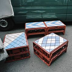 Forget street furniture, I'd put these in my house.    Bahbak Hashemi-Nezhad's street furniture