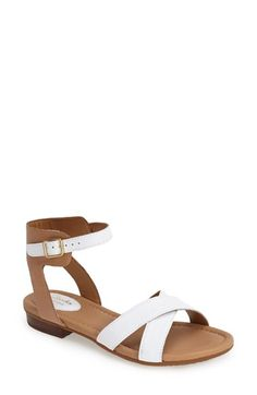 a3ec14ec402 Clarks®  Viveca Zeal  Leather Ankle Strap Sandal (Women)