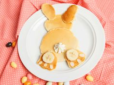 Rezept und Anleitung für einen Pancake-Hasen - eine Frühstücksidee nicht nur für Kinder.