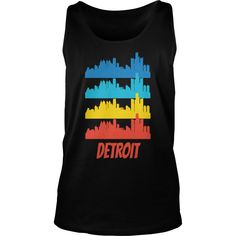 Retro Detroit MI Skyline Pop Art - Mens Premium T-Shirt  #gift #ideas #Popular #Everything #Videos #Shop #Animals #pets #Architecture #Art #Cars #motorcycles #Celebrities #DIY #crafts #Design #Education #Entertainment #Food #drink #Gardening #Geek #Hair #beauty #Health #fitness #History #Holidays #events #Home decor #Humor #Illustrations #posters #Kids #parenting #Men #Outdoors #Photography #Products #Quotes #Science #nature #Sports #Tattoos #Technology #Travel #Weddings #Women