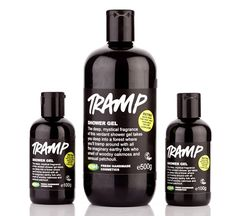 Tramp - In the Online Shop LUSH sells some of the all time favourite Retro products again. One of them is the Shower Gel Tramp. This used to be one of my must-have and all time favourite product of LUSH and I am so glad this glorious forresty Shower Gel is back in my bathroom.