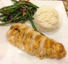 Pressure Cooker Honey Dijon Chicken | recipe from Taste of Hawaii