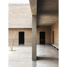 """INSPIRATION // Ahmedabad House - by Architect Bijoy Jain I Studio Mumbai // """" My interest lies primarily in doing what I do, with…"""