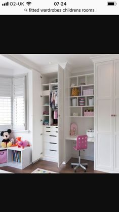 The concept of Fitted bedroom furniture is developing faster and is a very unique and innovative way to design bedroom. All the fitted bedroom furniture provides a wide range of choices in colours opt Childrens Room Decor, Childrens Bedroom Furniture, Room Design, Childrens Bedroom Storage, Bedroom Cupboard Designs, Bedroom Wardrobe, Girls Bedroom Furniture, Bedroom Design, Childrens Bedrooms