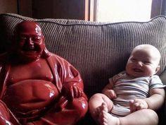 Buddha baby :D