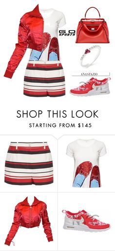 """Anastazio-Go Sporty"" by anastazio-kotsopoulos ❤ liked on Polyvore featuring Dolce&Gabbana, Chanel and White Label"