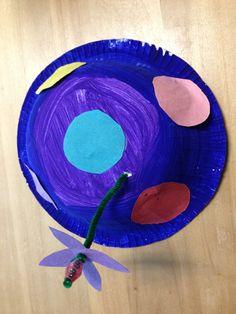 Circus hat for preschool art