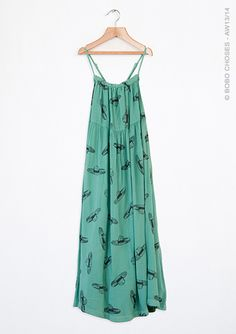 Size 6/7 Bobo Choses Green hat dress SOLD