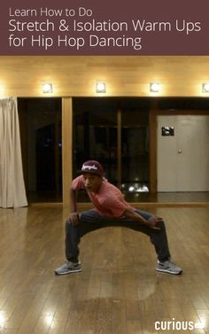 """Stretching is essential before dancing to prevent injury and loosen the body. Get a full hip hop warm-up routine with Darrell """"Rhythm"""" Whitaker in this lesson!"""