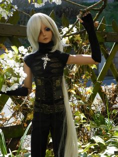 I was a second time with my Koori in the snow Koori is a Dream of Doll Elf Ducan.