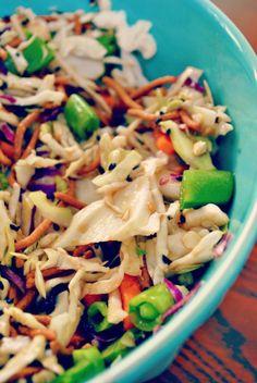 Hello Paper Moon: Favorite Vegetarian Meals: Asian Veggie Wraps with Garlic Ginger Dressing