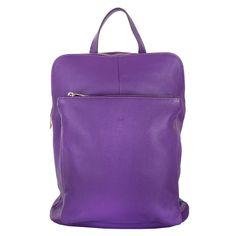 Marlafiji Bee Purple Italian leather back pack on sale Now www.marlafiji.com FREE SHIPPING WITHIN AUSTRALIA