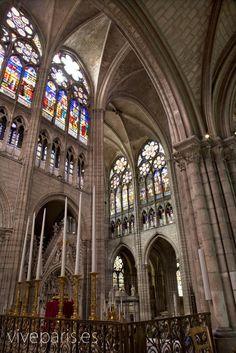 Catedral de Saint Denis #paris #travel #viajar #turismo #sights www.viveparis.es