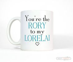 Mother Daughter Gift for Girls Birthday, You're The Rory To My Lorelai Coffee Mug, Gift Daughter, Mom and Daughter, Gift for Niece
