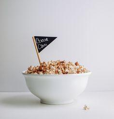 Chocolate Chai Popcorn (stovetop) - The Simple Veganista