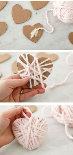 Crafts To Do, Crafts For Kids, Diy Crafts, Valentine Crafts, Valentines, Diy Xmas Gifts, Dollar Tree Christmas, Idee Diy, Wedding Crafts