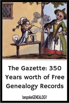 An Amazing Free British Genealogy Resource: The Gazette The Gazette: 350 years worth of free genealogy records. This post looks at this amazing free British genealogy resource which is often overlooked by family historians. Free Genealogy Records, Free Genealogy Sites, Genealogy Forms, Family Genealogy, Ancestry Websites, Genealogy Humor, Genealogy Chart, Genealogy Search, Family Tree Research