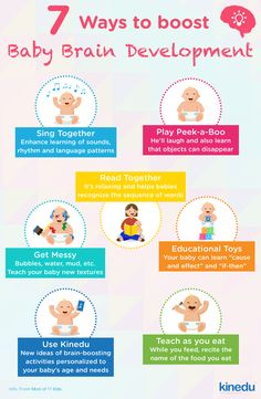 Here are 7 Ways to boost Brain Development in your baby!