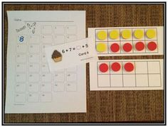 Math Coach's Corner: A Peek Inside: Whats Cookin'? The Meaning of the Equal Sign --- Play scoot 1st Grade Math, Kindergarten Math, Equals Sign, Math Coach, Math Projects, 10 Frame, Numeracy, Spring Cleaning, Equality