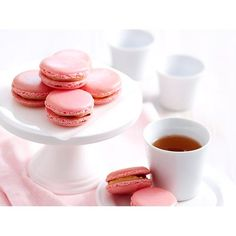 Raspberry and white chocolate valentine macarons recipe - By Woman's Day.  #ValentinesDay #Raspberry #Macarons #Chocolate