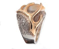 Elk tooth ring Antler ring Hunting ring Elk by ParkCityJewelry Antler Jewelry, Antler Ring, Elk Ivory, Unusual Rings, Bling Wedding, Weird And Wonderful, Antlers, Tooth Jewelry, Teeth