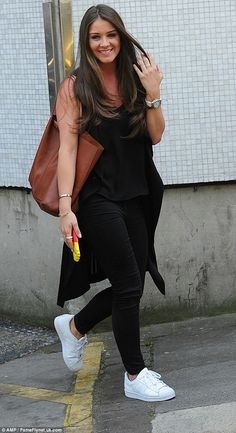 Brooke Vincent leaves the Loose Women studios looking glamorous | Daily Mail Online