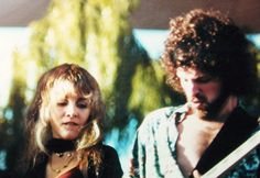 Stevie Nicks and Lindsey Buckingham, Rumours Tour, Santa Barbara, CA - May, 1977