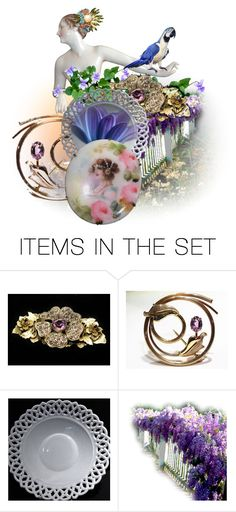 """""""Polly"""" by pattysporcelainetc ❤ liked on Polyvore featuring art, vintage and country"""