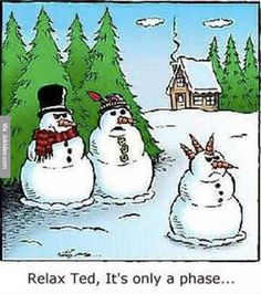 Funny snowman cartoon - http://www.jokideo.com/