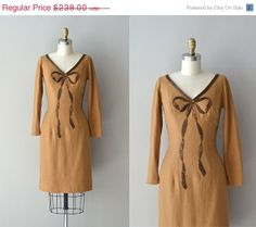 Gember BonBon dress / wool beaded by DearGolden