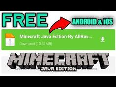 How To Download Minecraft Java Edition In Android Ios Easily Youtube In 2021 Minecraft Java Android