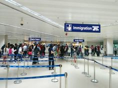 MANILA - The Bureau of Immigration (BI) is set to launch its electronic gates (e-gates) at the departure area of the Ninoy Aquino International Airport before Christmas exclusively for use of overseas Filipino workers. Immigration Officer, President Of The Philippines, Health Department, International Airport, Rodrigo Duterte, Product Launch, Manila Philippines, Macau