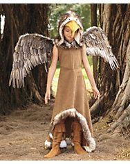 regal eagle girls costume