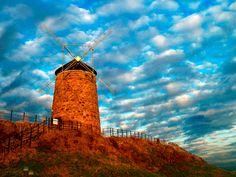 Sweet shot! Saint Monance windmill, Fife, Scotland