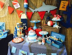 We rounded up the best birthday party ideas for boys, plus tips on how to execute them! Plan the perfect party with these themes, ranging from a Lego-themed party to a robot-themed party. Lego Themed Party, Birthday Party Themes, Circus Birthday, Boy Birthday, Shark Party, Under The Sea Party, Baby Shark, Shark Shark, Shark Week