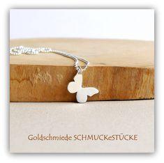 Silberanhänger - Anhänger - Schmetterling - 925er Silber - ein Designerstück von SCHMUCK-e-STUECKE bei DaWanda