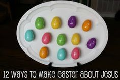 12 Ways to Make Easter about Jesus