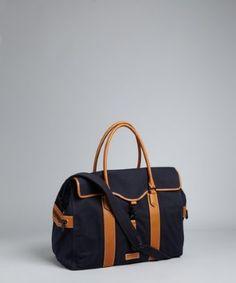 3426632dd0b Ben Minkoff navy canvas  Bru Weekender  travel bag Weekender, Travel Bags,  Totes