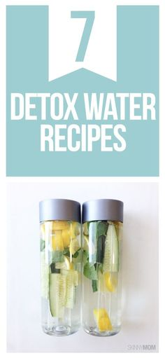 Detox with these DIY fruit and water recipes.